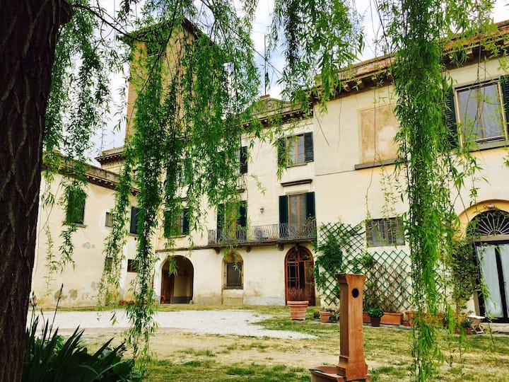 Chianti, Tuscany in a 17th C. villa