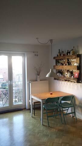 Gesamte Wohnung am Gärtnerplatz - Munich - Leilighet