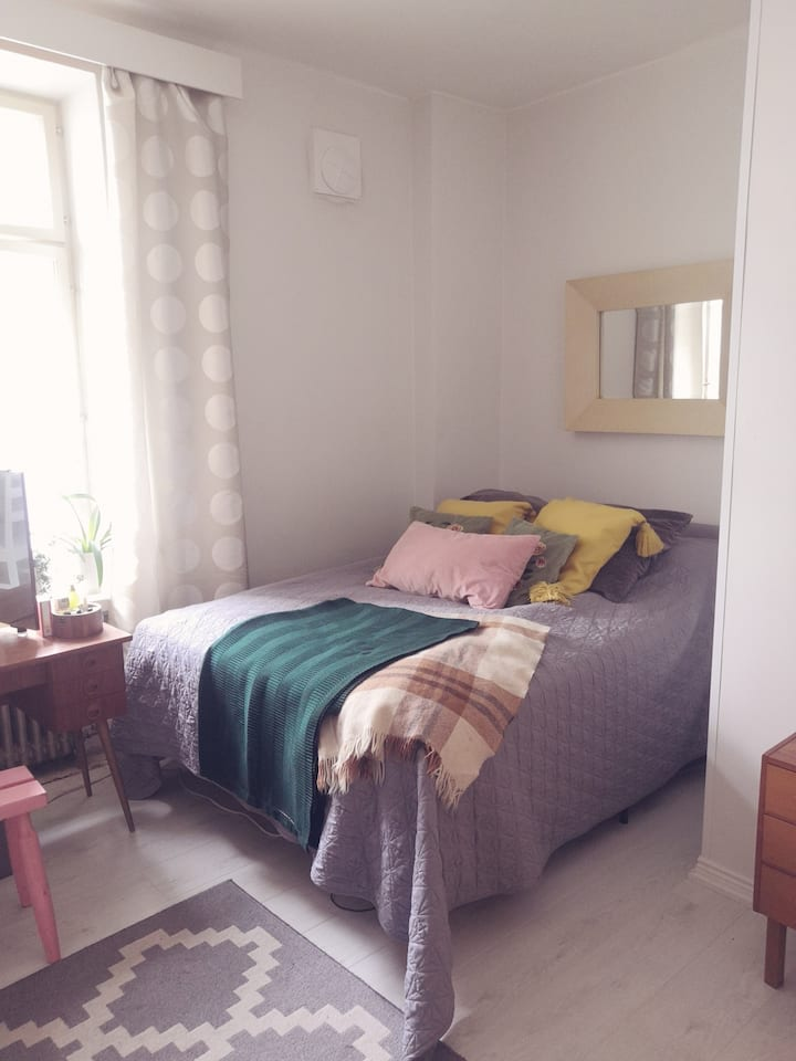 30,5m2  Bohemian apartment with perfect location