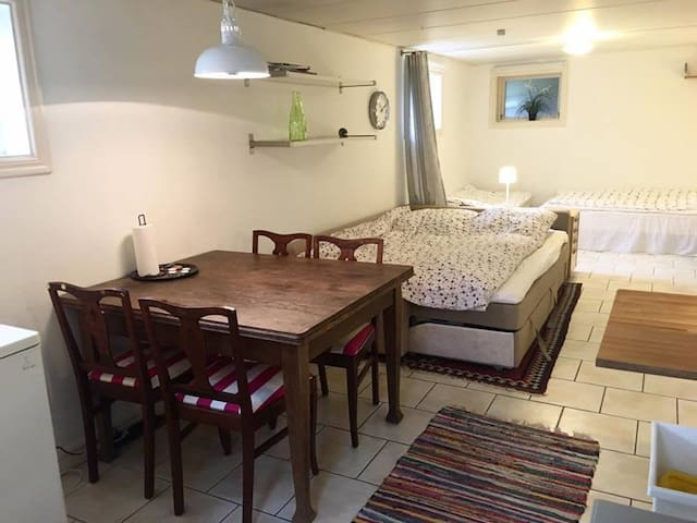 Room with separate entrance, kitchen and bath 1-4p - Göteborg - Appartement