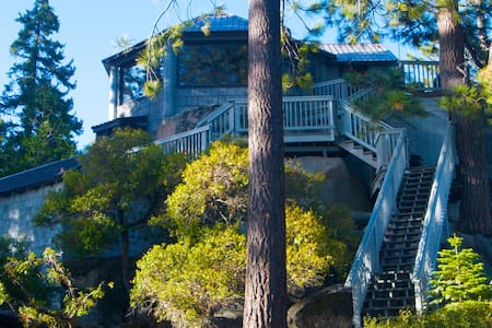 Like a Treehouse; Amazing Views, Walk to the Beach - Kings Beach