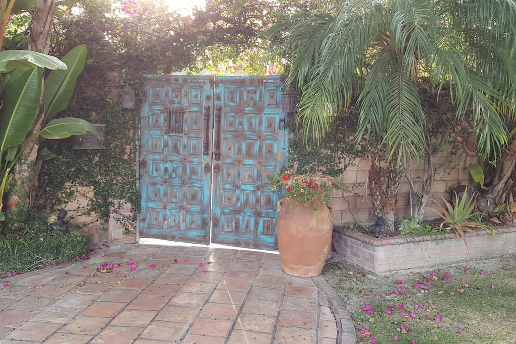 Private entrance to home...