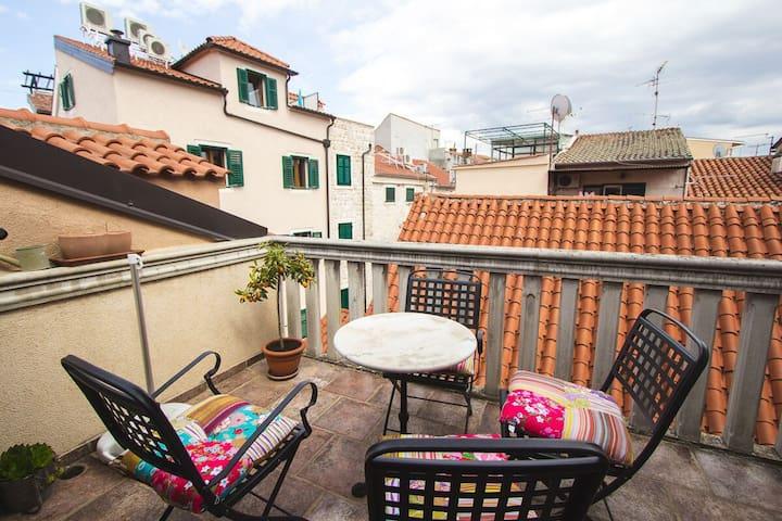 Balcony apartment, centre Sibenik