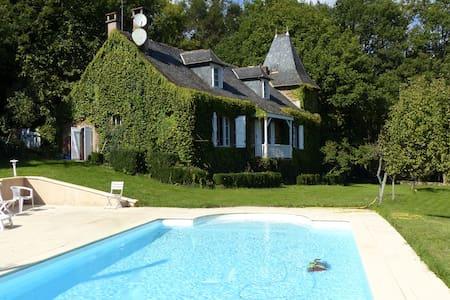 Maison de caractère dans l'Aveyron - Saint-Cyprien-sur-Dourdou