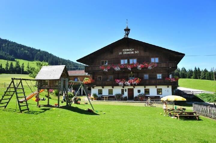 """Urlaub am Bio-Bauernhof Achrainer-Moosen """"Hohe Salve"""""""