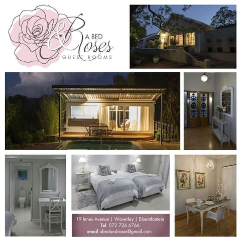 A Bed & Roses Guest Rooms