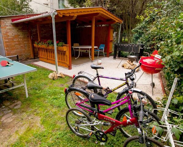 Zöldövezeti, Csendes Apartman Szegeden