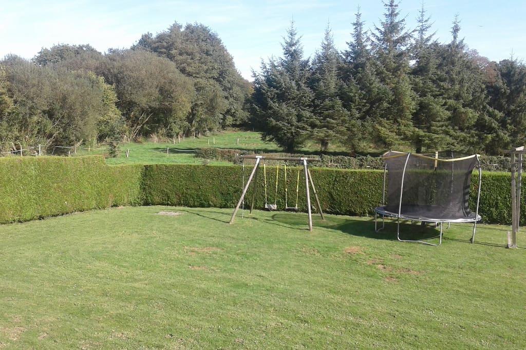 Back communal garden