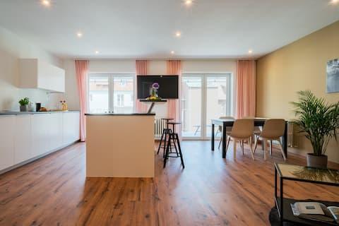 Zentrales 80-qm-City-Apartment (Nr. 6) für 4 Pers.
