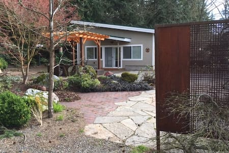 Private Home Whatcom Lake w/ hottub - Bellingham - Haus