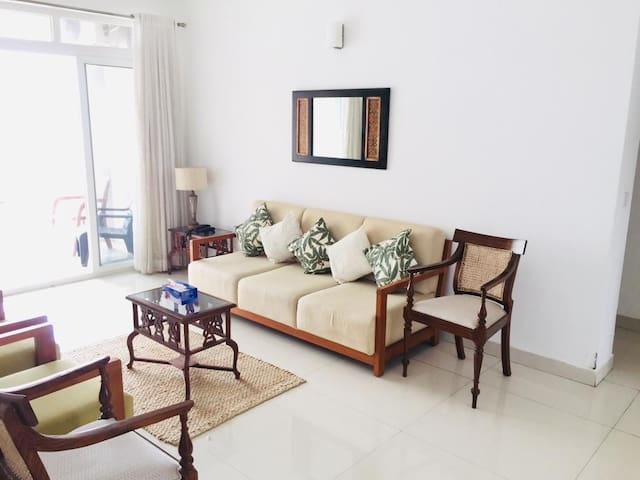 Fully furnished 2BHK with panoramic backwater view