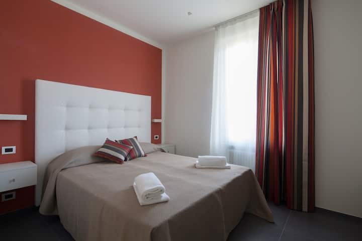 Villino Wanda : Camera Rossa