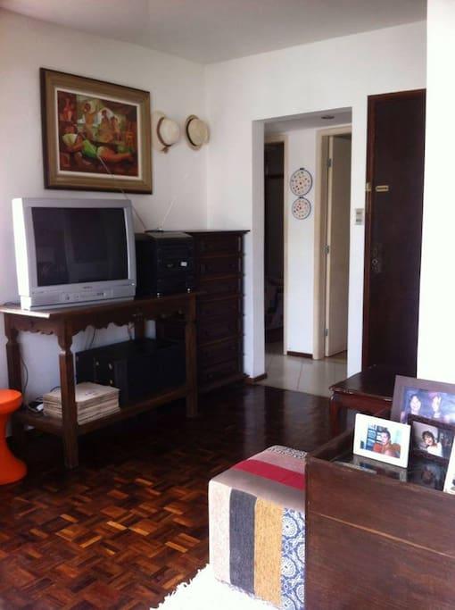 Ambiente aconchegante e decoração vintage