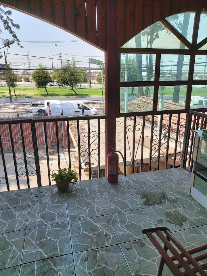 hostal pajaritos $25000 habitacion individual noch