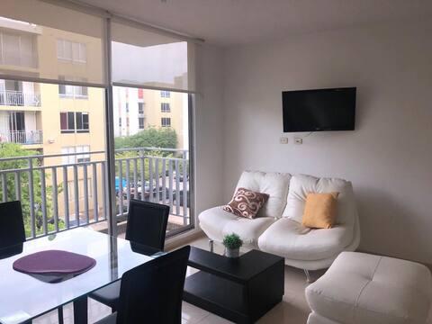 Lindo y nuevo apartamento con excelente ubicación