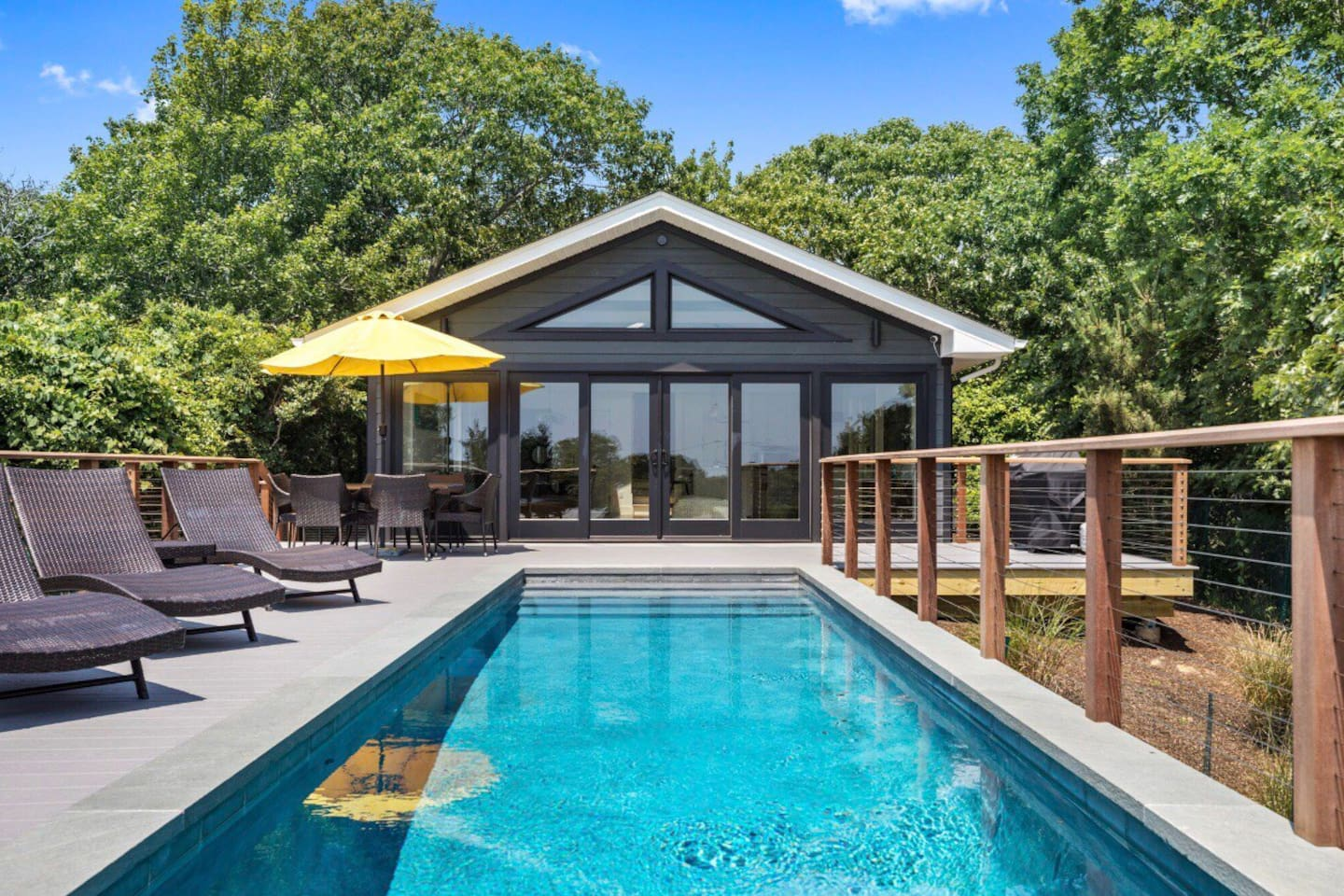 infinity pool united states. *New* Modern Home W/ Infinity Pool \u0026 Ocean View - Houses For Rent In Montauk, New York, United States