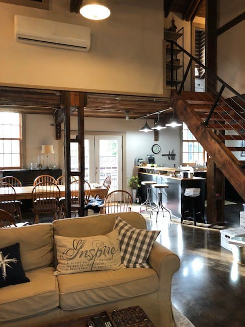 Historic Loft in the Finger Lakes