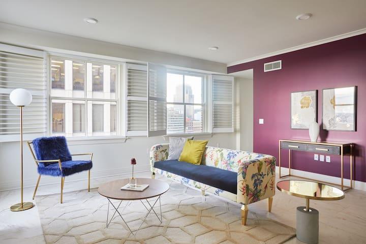 Sonder | Jung Residences | Lovely 1BR + Rooftop