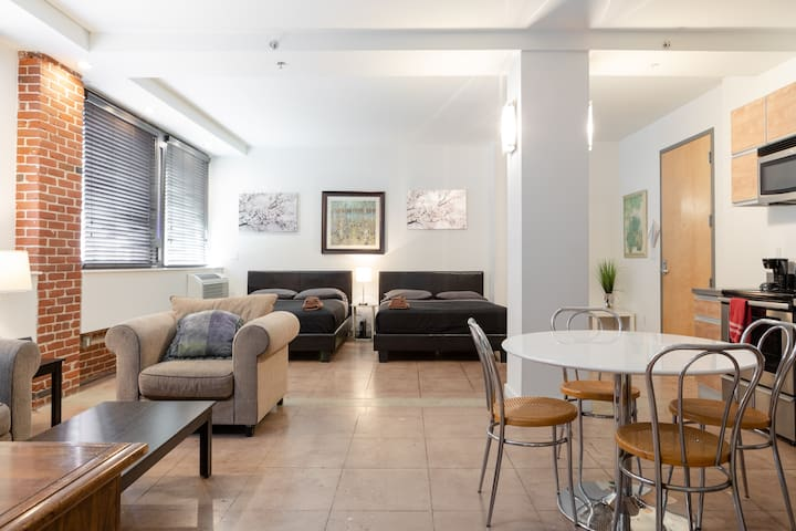 BIG one bedroom private loft LA (401 The Rosemary)