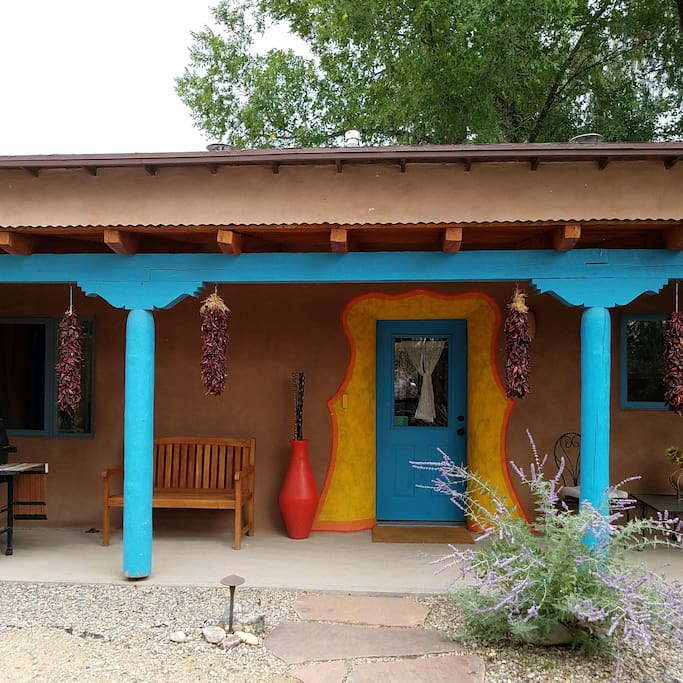 charming old world adobe casita