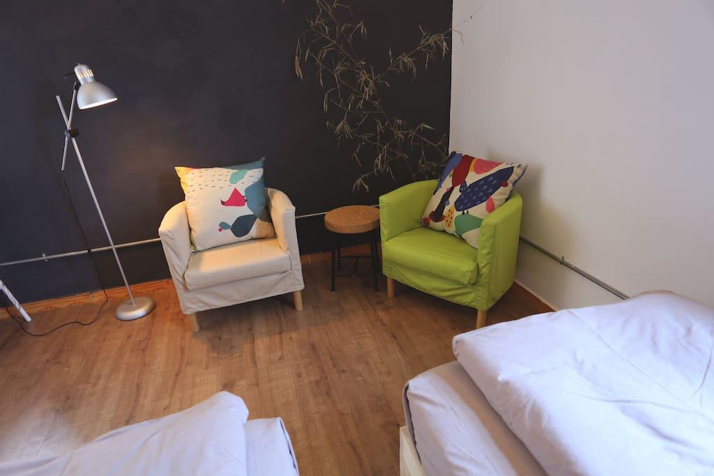 房间(guest room)