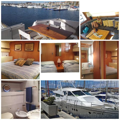Luxury Yacht experience 3pax private Triple room
