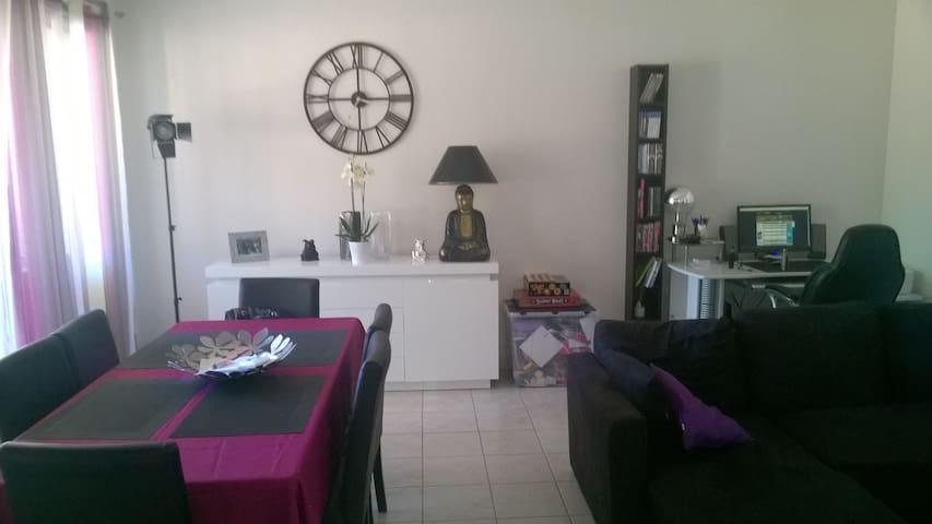Appartement f2 45 m2 coeur centre ville - Grabels - Leilighet