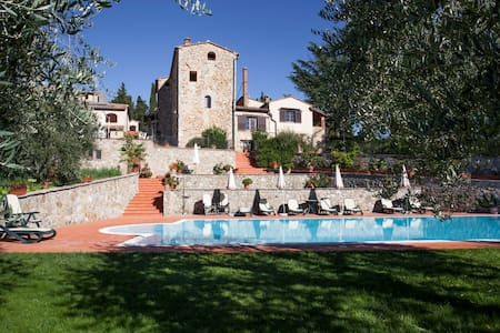Casa torre XIIsecolo in agriturismo - Volterra