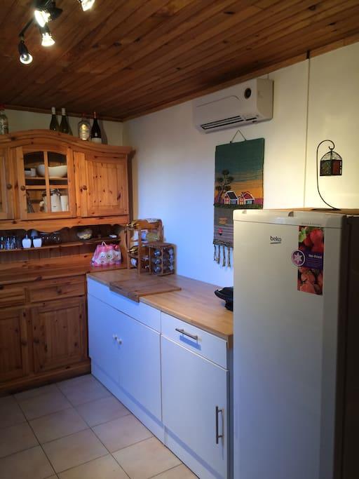Cuisine privée à votre disposition/ private kitchen