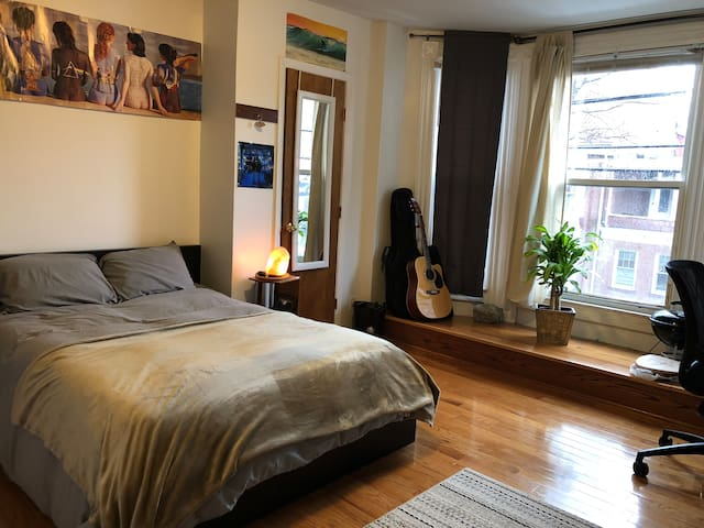 Clean and Cozy Yale Apartment