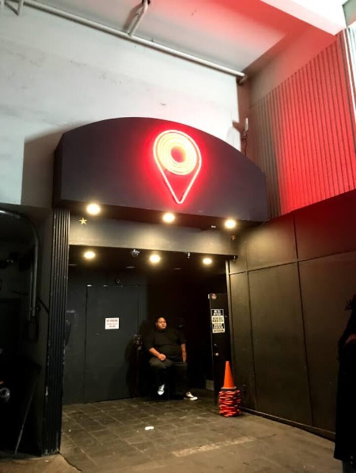 District night club entrance