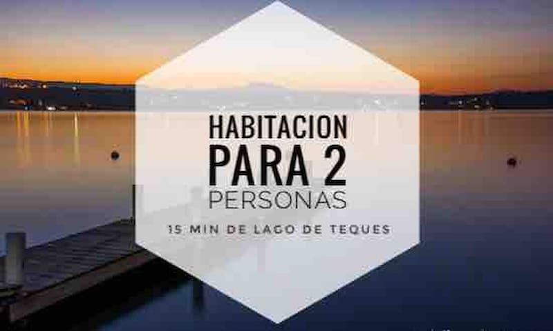 Habitación planta baja Teques y Jardines de Mexico