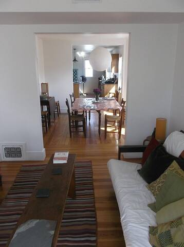 Light-filled 2nd/3rd Floors with porch & garden - Arlington - Apartment