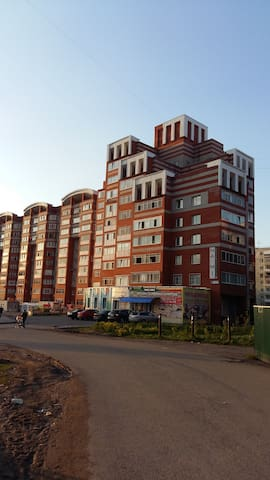 Comfortable apartment with panoramic view - Tomsk - Wohnung