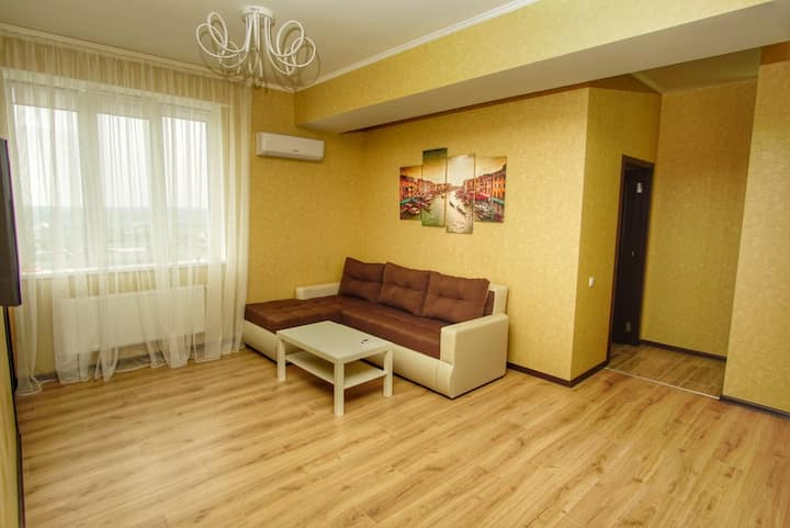 Absolutely new central 23d floor apartment