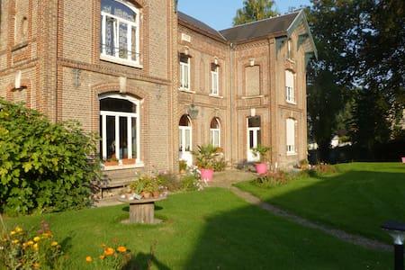 chambre privée avec sdb/wc privatif - Picquigny - Pensió