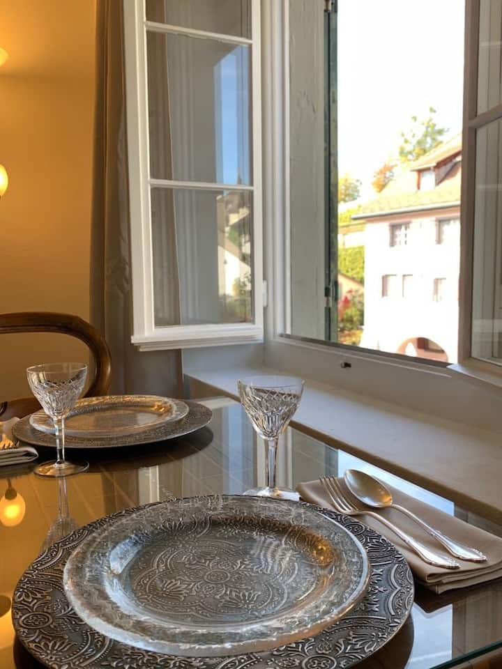 Old Town Charm & Central Location in Rapperswil