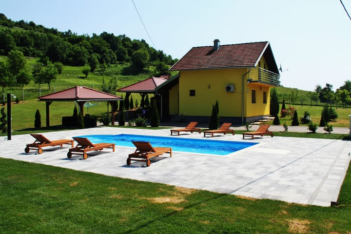 Holiday Home Dalija with private pool and BBQ