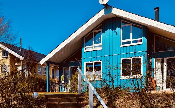 Komfort-Ferienhaus  Sauna Erholung Natur Wald #67A