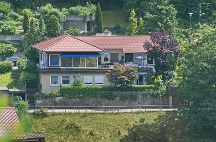 Holiday home with big terrace  - Bad Wildbad - Hus