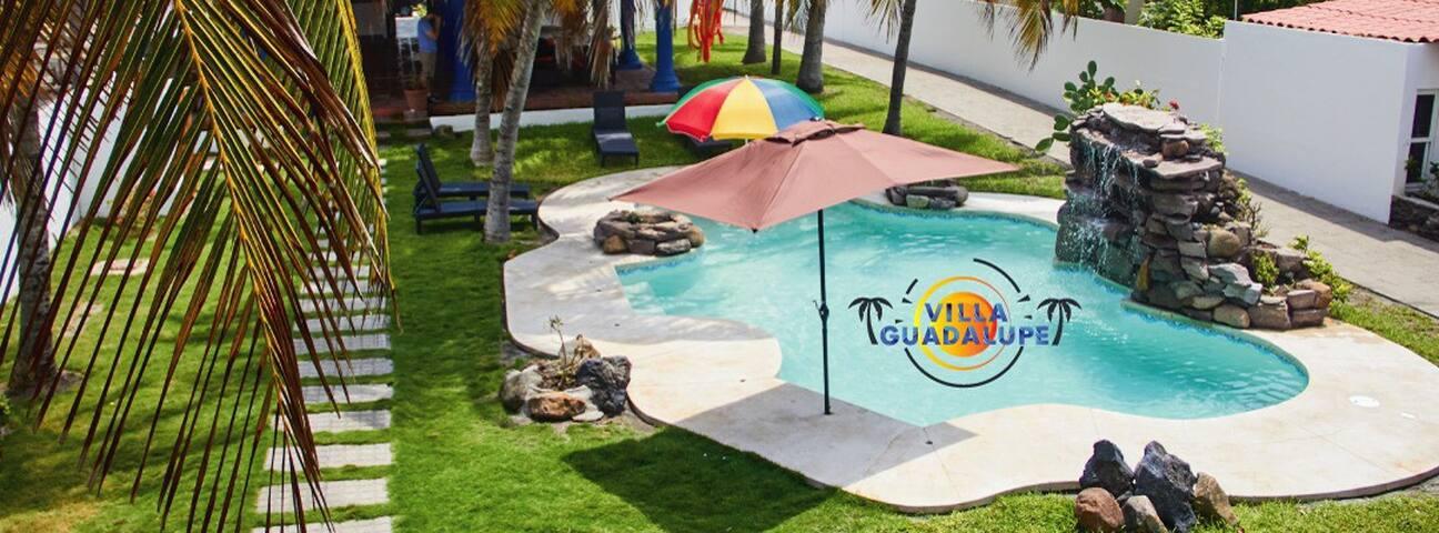 Costa del Sol El salvador Villa Guadalupe Beach