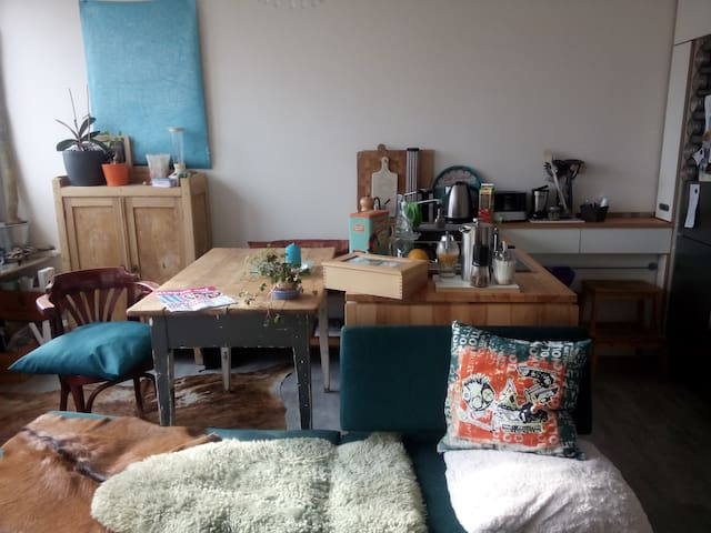 Quiet flat, cosy and extremely central on 40 sq m - Karlsruhe - Apartamento