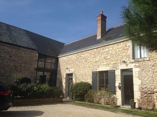 Suite familiale de charme à proximite de Chambord - Champigny-en-Beauce - Hus