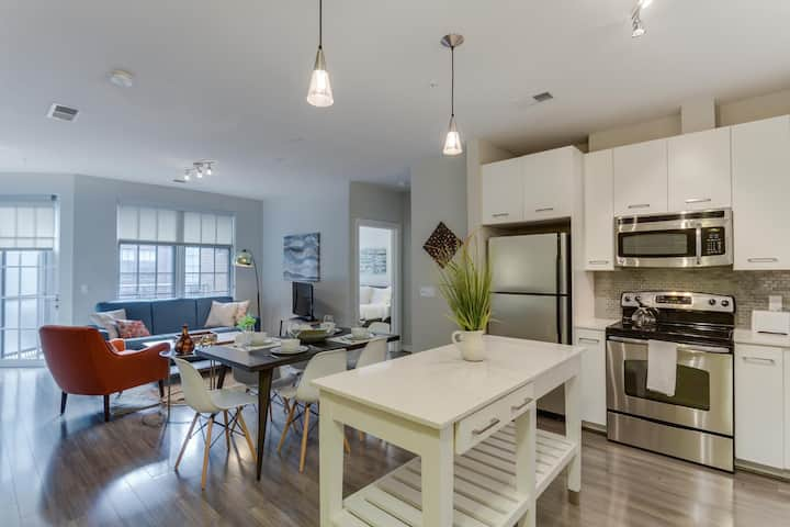 Modern 2BR 5 Minutes to National Mall