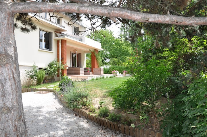 Toulouse-Balma: Villa Avec piscine au sel