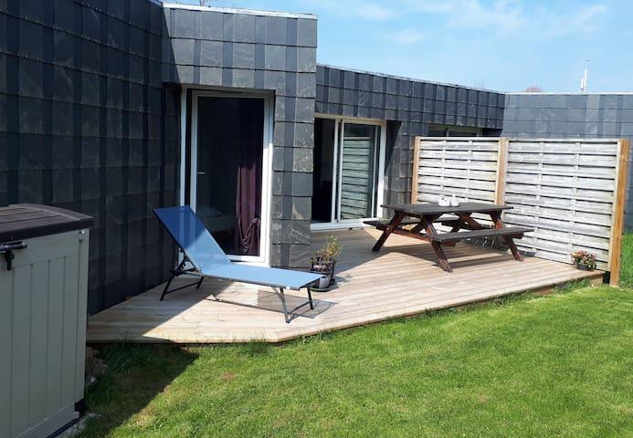 Maison sans vis à vis - proche plage - jardin clos