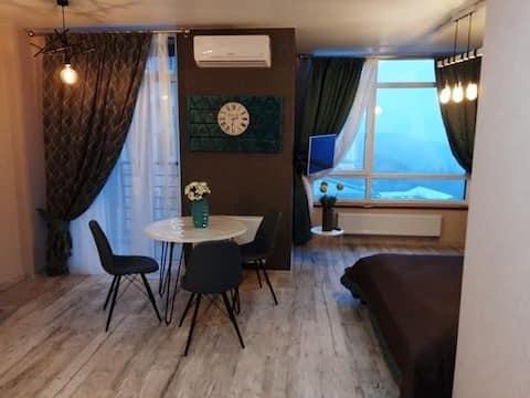 Уютная видовая квартира