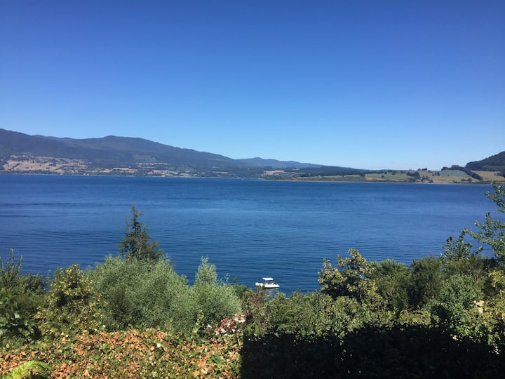 Espectacular Casa Orilla Lago Riñihue!!