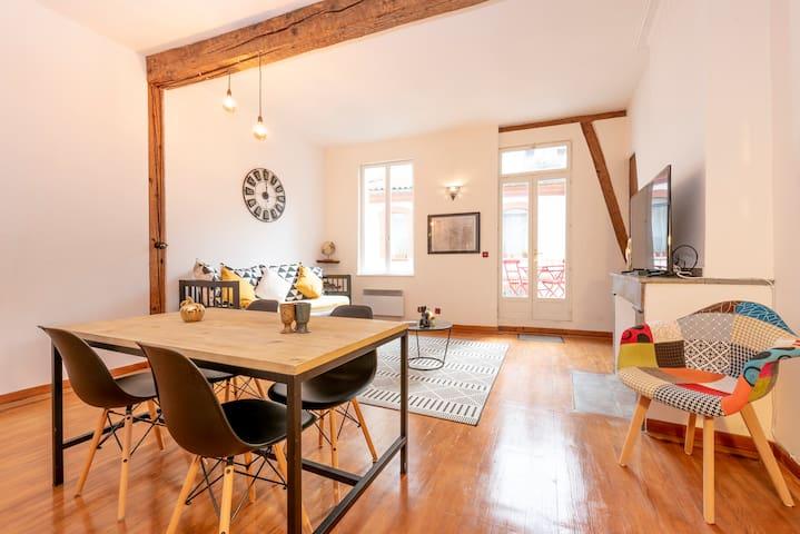 Appartement de standing Toulouse hypercentre