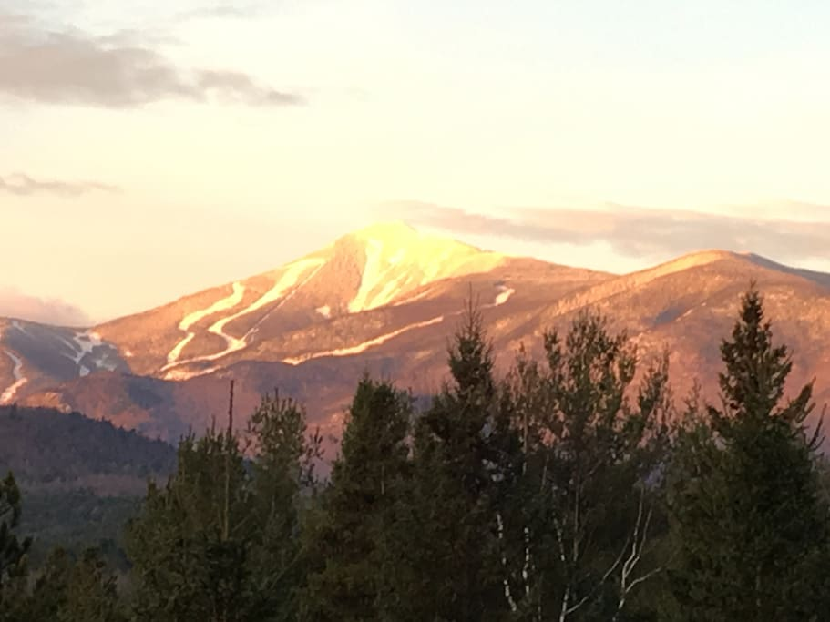 Whiteface Mountain from property